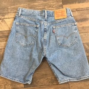 Levi's 505 high rise Jean shorts SZ 29